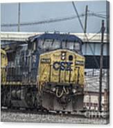 Csx 7745 Engine 01 Canvas Print