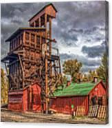 Coal Tipple Canvas Print