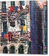 Cuba Edificios Canvas Print