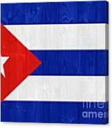 Cuba Flag Canvas Print