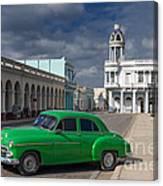 Cuba Green  Canvas Print