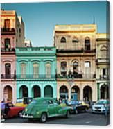 Cuba, Havana, Havana Vieja, Outside T Canvas Print