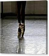 Cuban Ballet Dancer Canvas Print