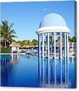 Cuban Resort Canvas Print