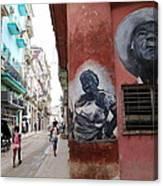 Cuban Street Art 3 Canvas Print