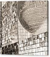 Cubes And Balls Canvas Print
