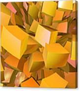 Cubist Melon Burst By Jammer Canvas Print