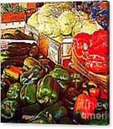 Cucumber 79 Cents Canvas Print