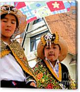 Cuenca Kids 493 Canvas Print