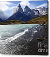 Cuernos Del Paine Patagonia 3 Canvas Print
