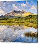 Cuillin Reflection Canvas Print
