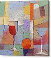 Cuisine Textured Canvas Print