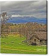 Culloden Moor And Old Leanarch Canvas Print