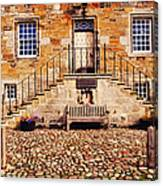 Culross Sketches 1  Scotland Canvas Print