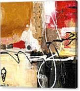 Cultural Abstractions - Hattie McDaniels Canvas Print