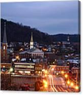 Cumberland At Night Canvas Print