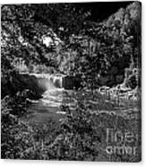 Cumberland Falls Black And White Canvas Print