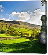 Cumbrian View Canvas Print