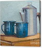 Cup A La Joes Canvas Print