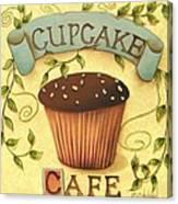 Cupcake Cafe Canvas Print