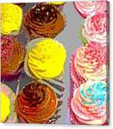 Cupcake Suite Canvas Print