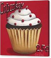 Cupcakes 25 Cents Canvas Print