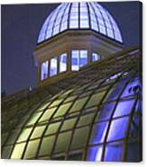 Cupola At Night Canvas Print