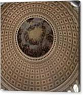Cupola Capitol Washington Dc Canvas Print