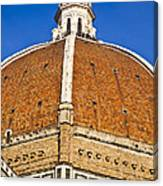 Cupola On Florence Duomo Canvas Print