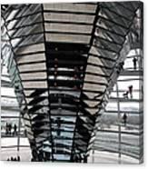 Cupola Reichstag Building II Canvas Print