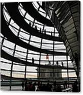 Cupola Reichstags Building Berlin Canvas Print