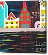 Curacao Blue  Canvas Print