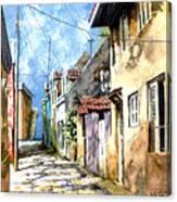Curacao Pietermaai  Canvas Print