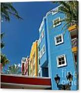 Curacaos Colorful Architecture Canvas Print
