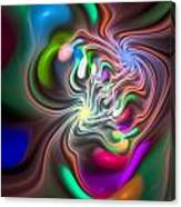 Curbisme-85 Canvas Print