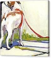 Curbside Canvas Print
