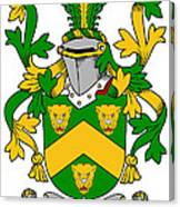 Curdy Coat Of Arms Irish Canvas Print