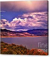 Curecanti Autumn Blue Mesa Colorado Canvas Print