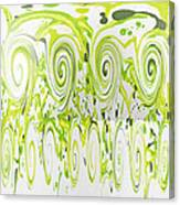 Curly Greens Canvas Print