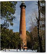 Currituck Beach Lighthouse Corolla Nc Color Img 3772 Canvas Print
