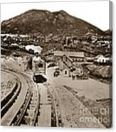Curry Mine.virginia City Nevada.1865 Canvas Print