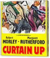 Curtain Up, Us Poster, Robert Morley Canvas Print