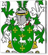Curtin Coat Of Arms Irish Canvas Print