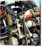 Curtiss Ox-5 Airplane Engine Canvas Print
