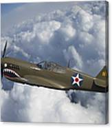 Curtiss P-40 Warhawk Flying Tigers Canvas Print