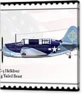 Curtiss Wright Sb2c-5 Helldiver Canvas Print