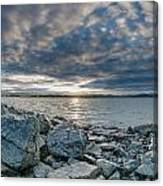 Curve Off The Bay Canvas Print