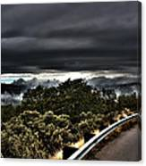 Curve On The Road To Heaven  Canvas Print