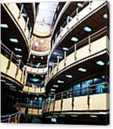 Curved Walkways Canvas Print