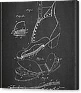 Cushion Insole For Shoes Patent Drawing From 1905 Canvas Print